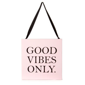 Good Vibes Only Mini Wall Canvas,