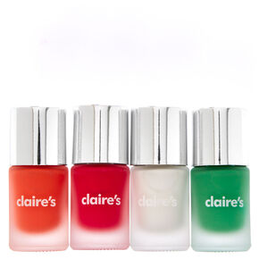 4-Pack Matte Nail polish Set,