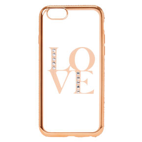 Gold Love Phone Case,