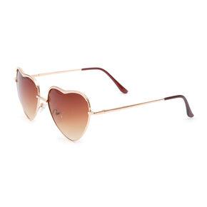 Heart Shaped Lens Sunglasses,