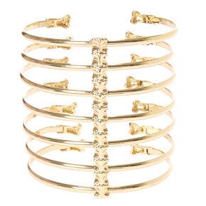 Gold Bones Bracelet,