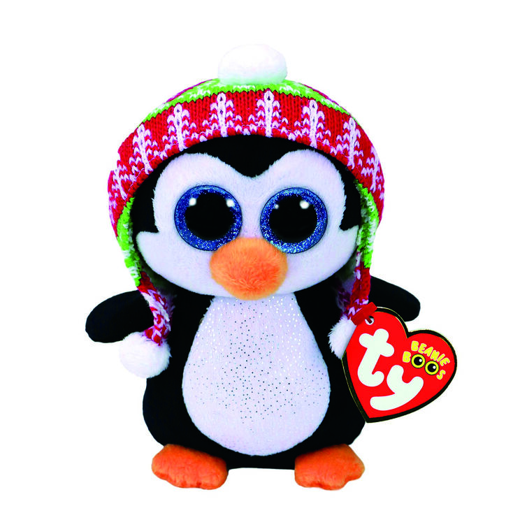 TY Beanie Boo Penelope the Penguin Small Plush Toy,