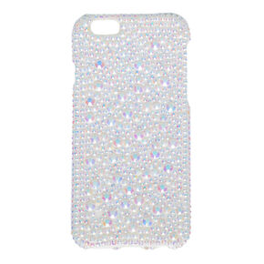 Iridescent Crystals and Glitter Phone Case,