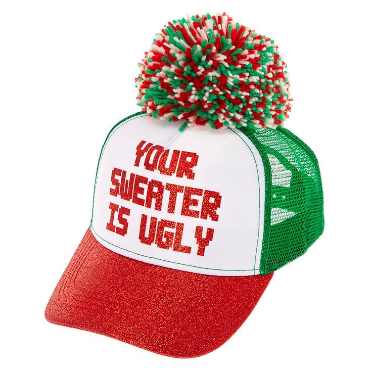 Ugly Sweater Trucker Hat,