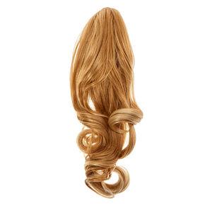 Fake hair false hair extensions icing us dark blonde short faux hair ponytailer pmusecretfo Choice Image