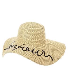 Bonjour Floppy Hat,