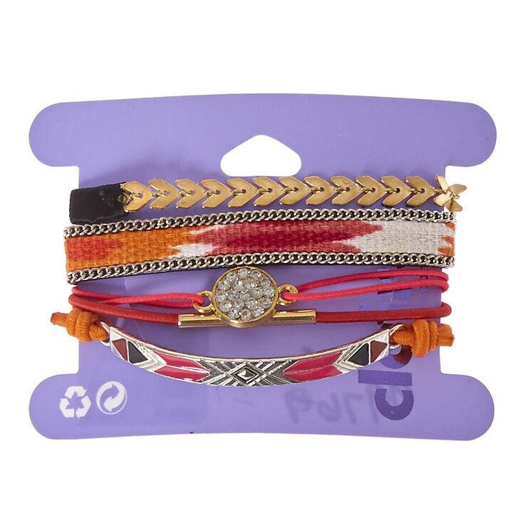 5-Pack Assorted Stretch Bracelets,