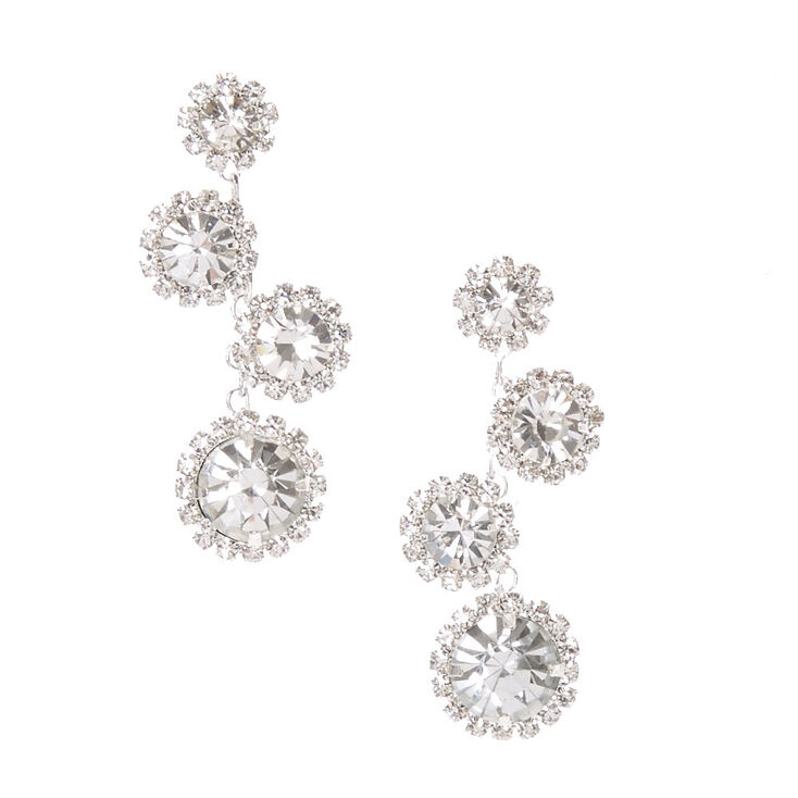 Halo Bubble Drop Earrings,