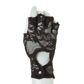 Fingerless Lace Gloves,