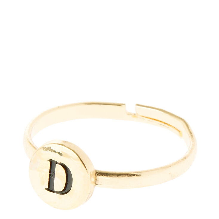 D Initial Letter Ring,