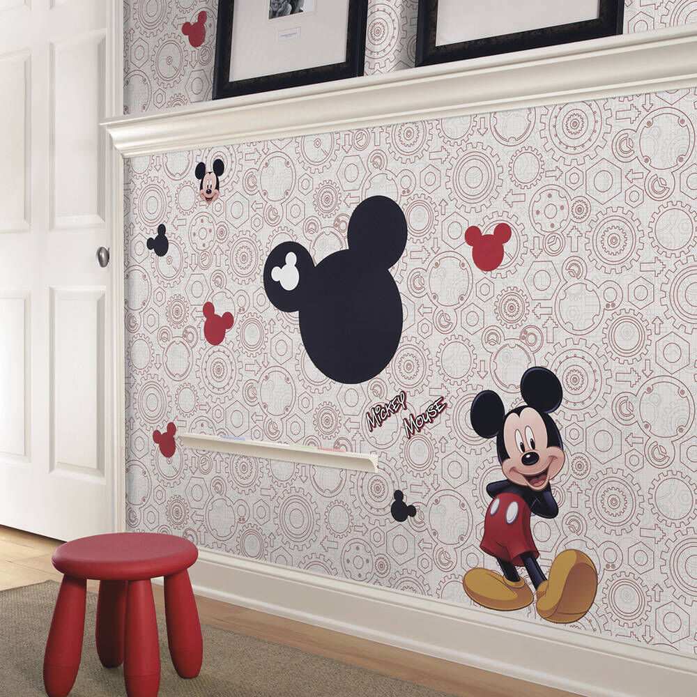 ... Disney Mickey Mouse Chalkboard Peel And Stick Wall Decals, ... Part 46
