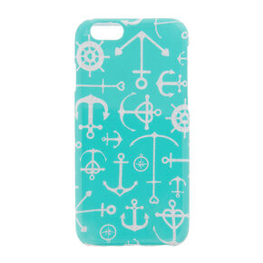 Glitter Anchors Phone Case,