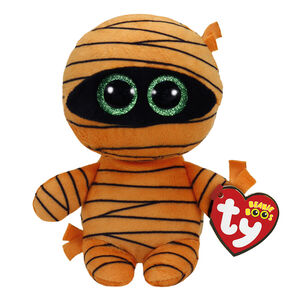 TY Beanie Boos Mask the Mummy Plush Toy,
