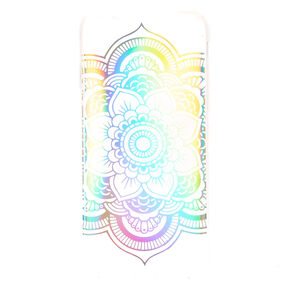 Holographic Mandala Phone Case,