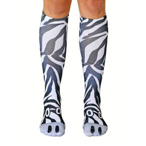 Living Royal Zebra Knee High Socks,