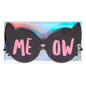 Meow Cat Glasses Strawberry Flavored Lip Gloss Set,