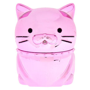 Metallic Cat Pink Lemonade Flavored Lip Gloss,