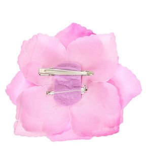 Large Lilac Flower Hair Clip,