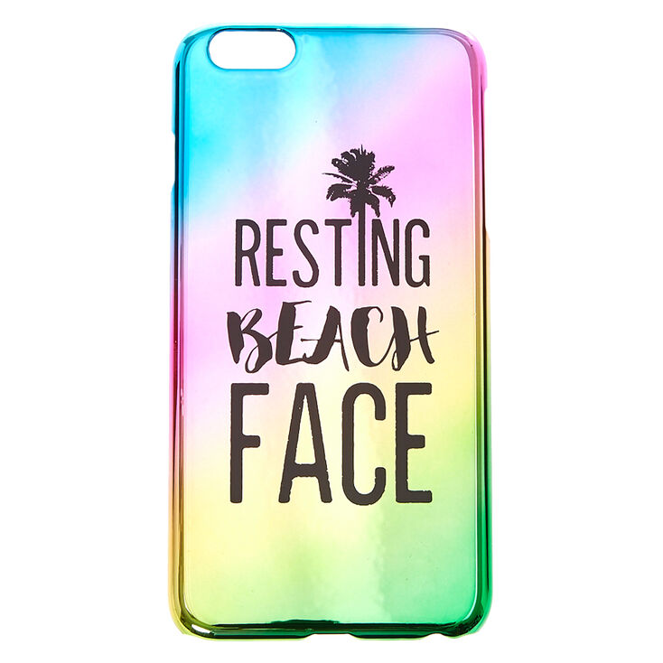 Beach Face Phone Case,