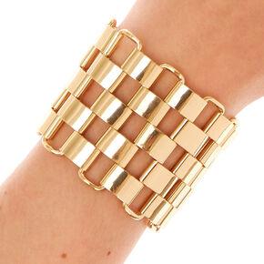 Chunky Extra Large Gold Bracelet,