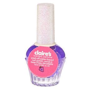 Grape Scented Purple Nail Polish,