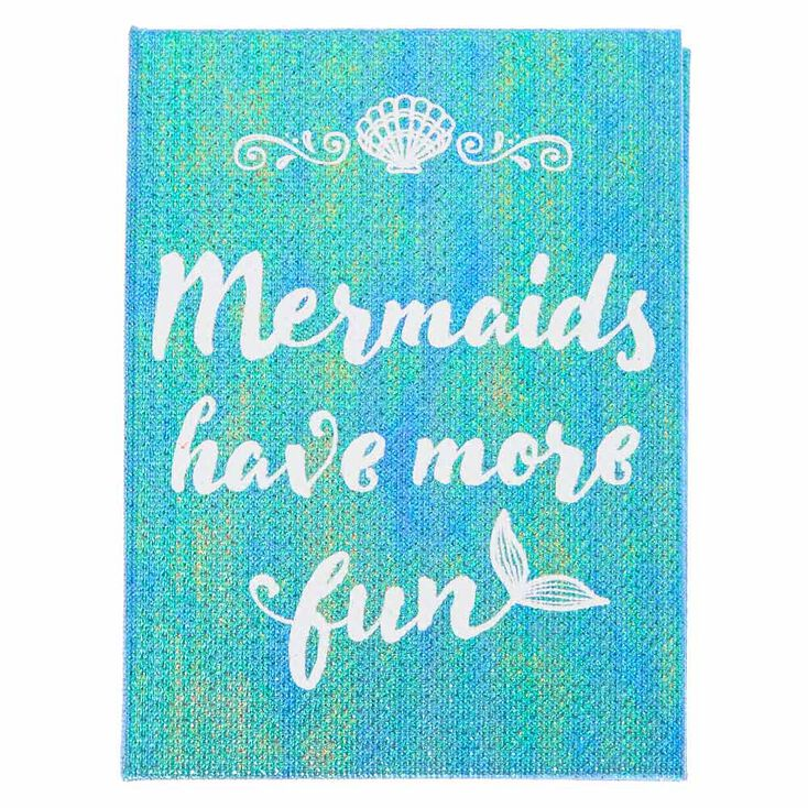Mermaids Have More Fun Memo Pad Booklet,