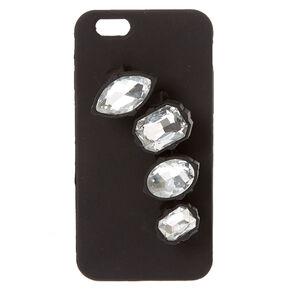 Black Gem Holder Phone Case,