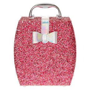 Metallic Hot Pink Glitter Makeup Set,