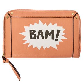 Coral Comic BAM! Wallet,