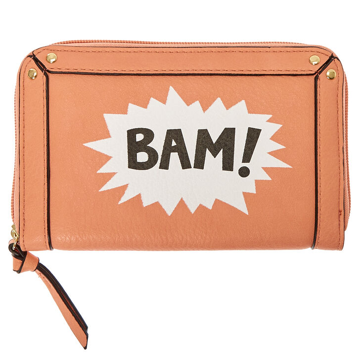 Coral Comic BAM! Wallet at Icing in Victor, NY | Tuggl