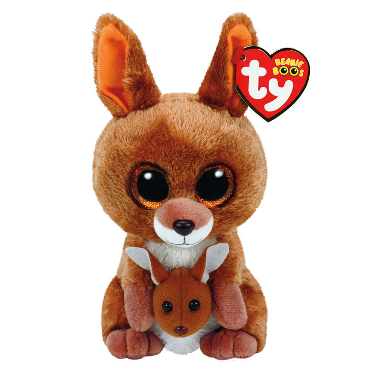 Ty Beanie Boo Small Kipper The Kangeroo Plush Toy Claire