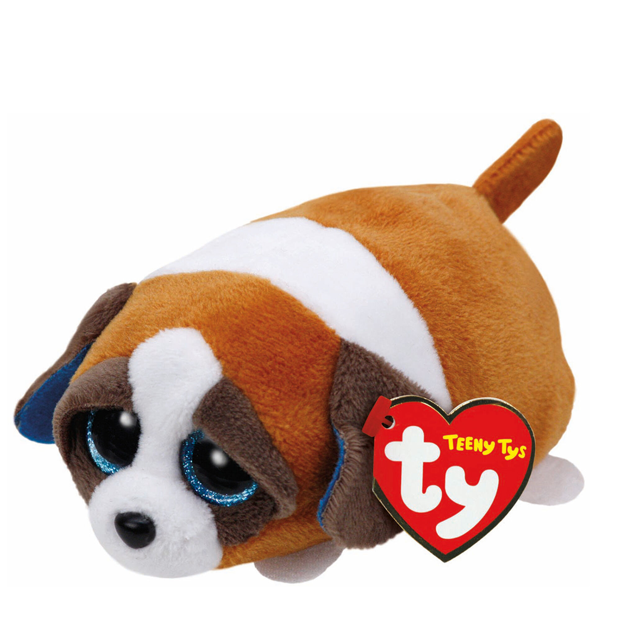 Teeny TY Gypsy the Brown Dog Plush Toy