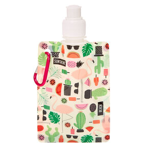 Desert Oasis Collapsible Soft Flask,