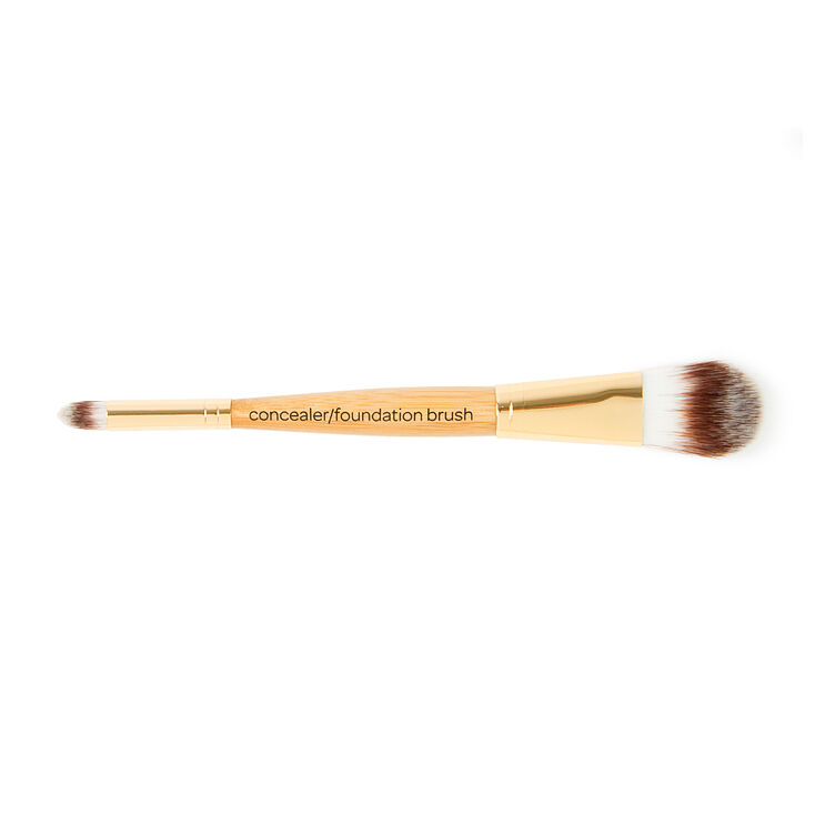 Bamboo Dual-Ended Foundation and Concealer Brush,