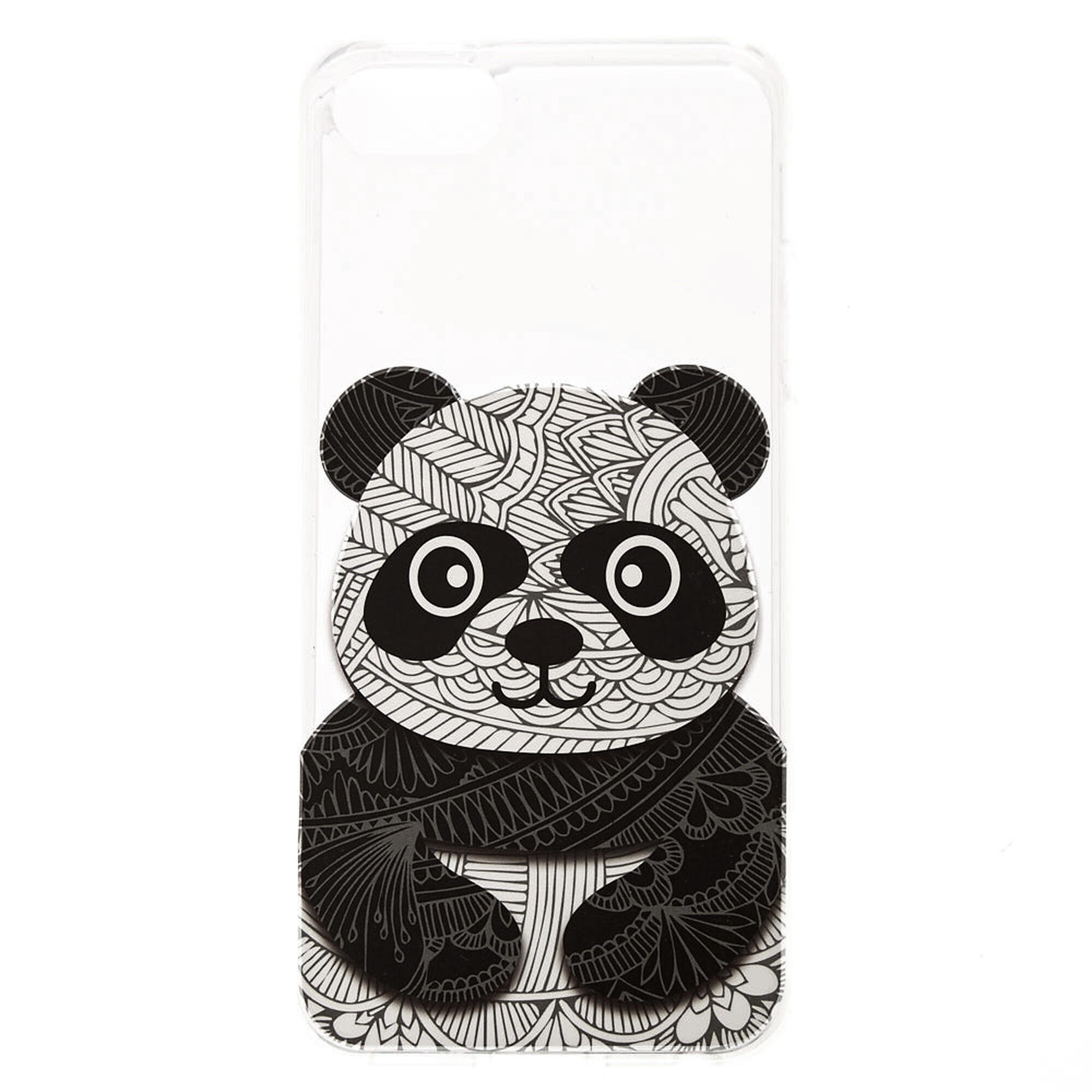 Coque de portable dessin panda claire 39 s fr - Tete de panda dessin ...