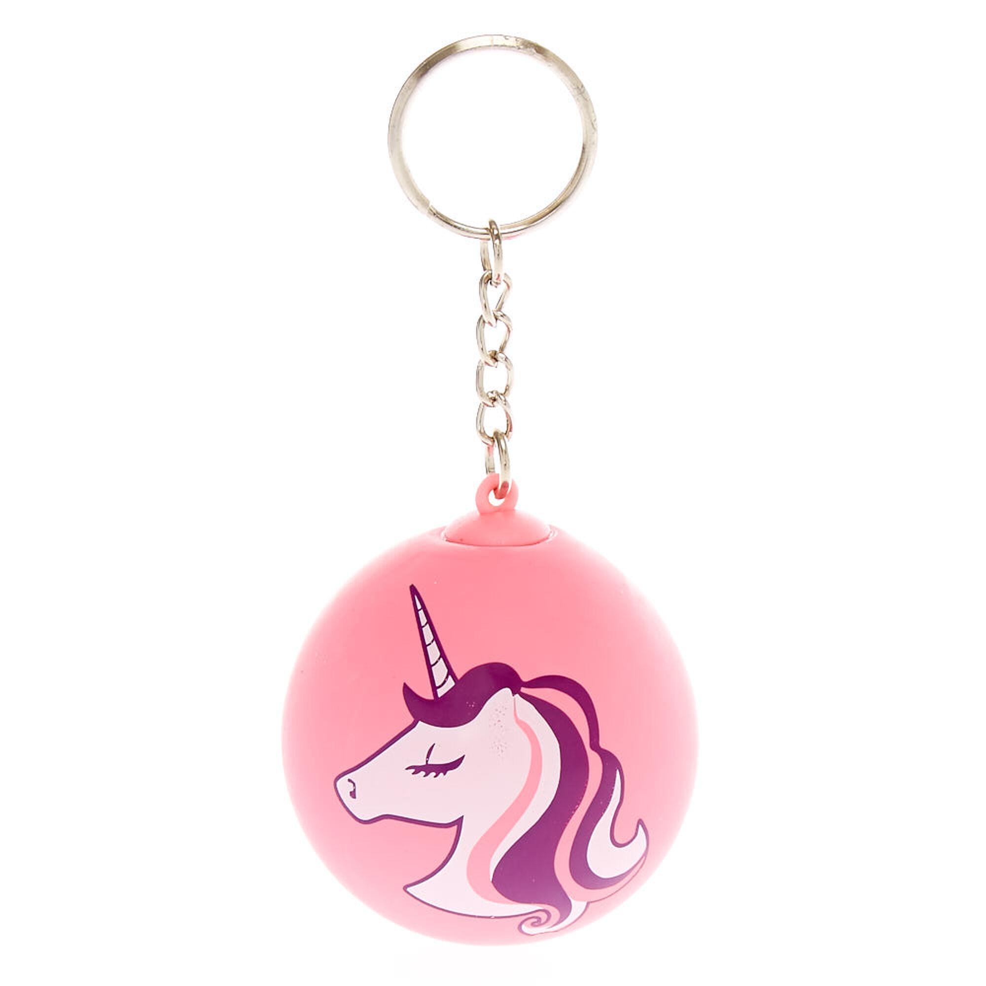 Unicorn Stress Ball Keychain Claire S Us