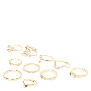Gold Romantics Ring Set,