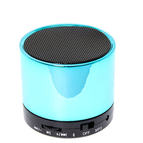 Turquoise Mini Bluetooth Speaker,
