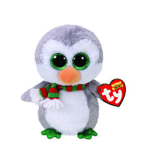 TY Beanie Boo Chilly the Penguin Small Plush Toy,