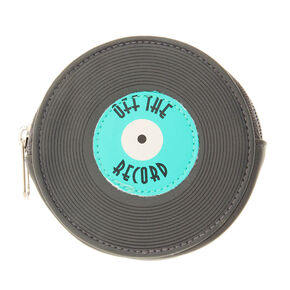 Off the Record Mini Coin Purse,