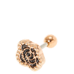 Rose Gold Tragus Earring,