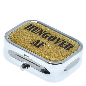 Hungover AF Pill Case,