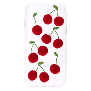 Cherry Pom Pom Phone Case,