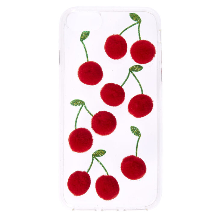 Cherry Pom Pom Phone Case,