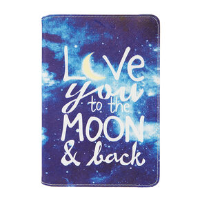 Love You to the Moon & Back Folding Tablet Case,