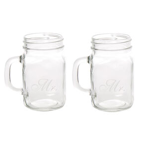Mr. and Mr. Mason Jars,