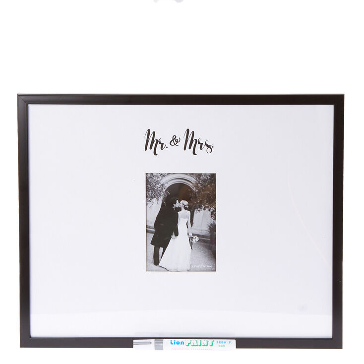 Mr. and Mrs. Autograph Photo Frame,