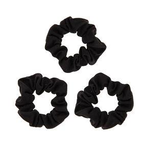 Black Jersey Scrunchies,