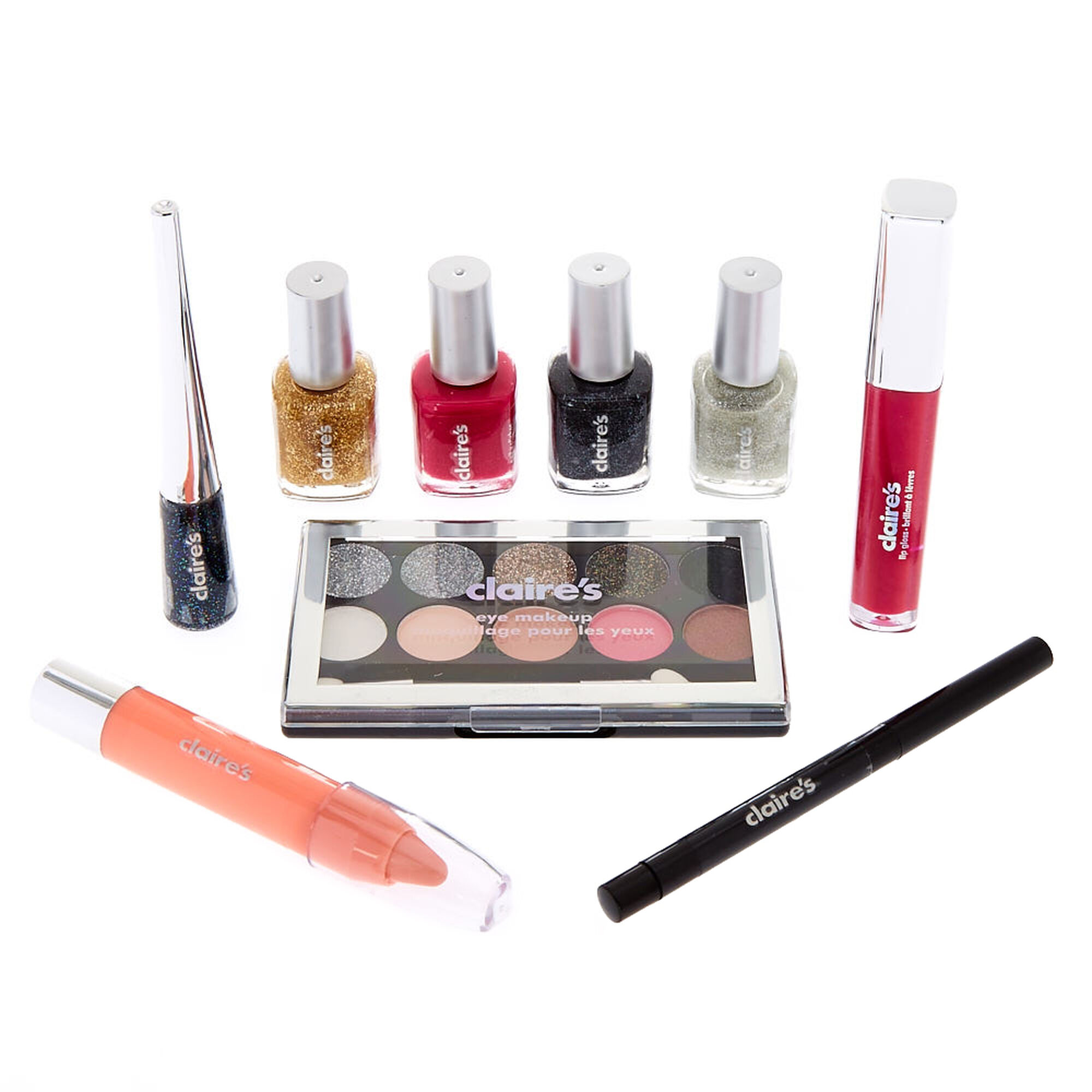 Holiday piece makeup gift set claire s us