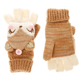 Kids Fiona the Fox Gloves with Mitten Flap,